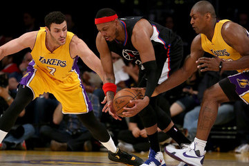 Metta World Peace Los Angeles Clippers v Los Angeles Lakers