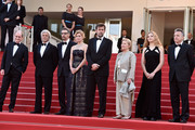 "(2nd L-R) Producer Domenico Procacci, actor John Turturro, actress Margherita Buy, director Nanni Moretti, actress Giulia Lazzarini, actress Beatrice Mancini and Paolo Del Brocco attends the Premiere of ""Mia Madre"" (""My Mother"") during the 68th annual Cannes Film Festival on May 16, 2015 in Cannes, France."