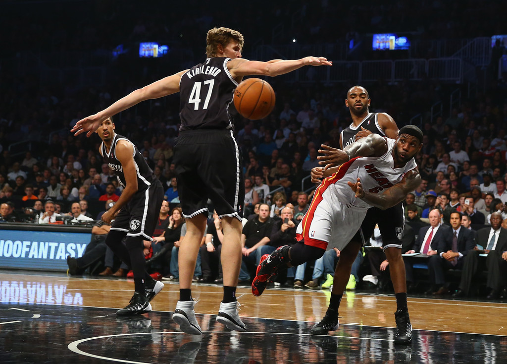 Brooklyn Nets 101 - 100 Miami Heat / NBA - 2013/2014