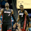 Amare Stoudemire and Dwyane Wade Photos