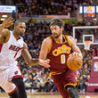 Kevin Love and Chris Bosh Photos