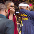 LeBron James and Chris Bosh Photos