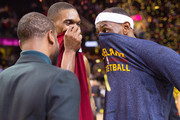LeBron James and Chris Bosh Photos Photo