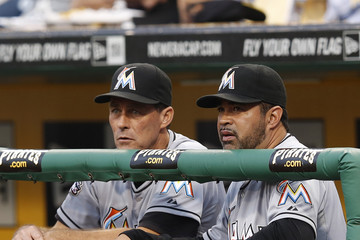 Randy St. Claire Miami Marlins v Pittsburgh Pirates