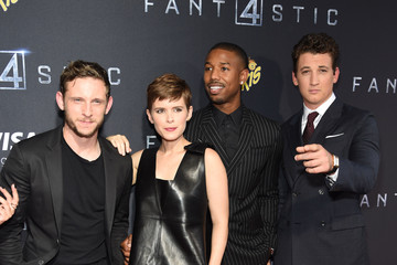 Michael B. Jordan Guests Attend the 'Fantastic Four' New York Premiere