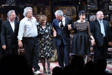 Michael Barrett 'The Cradle Will Rock' Curtain Call in NYC
