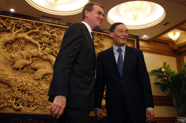 U.S. Senators Visit China To Discuss Currency And Trade