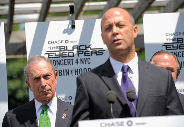 Michael Bloomberg and Will.i.am Announce the 'Concert 4 NYC'