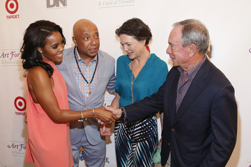 Michael Bloomberg Diana Taylor 15th Annual Art For Life Gala Hosted by Russell and Danny Simmons - Arrivals