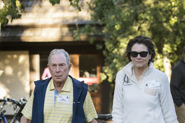 Michael Bloomberg Annual Allen And Co. Meeting In Sun Valley Draws CEO's And Business Leaders To The Mountain Resort Town