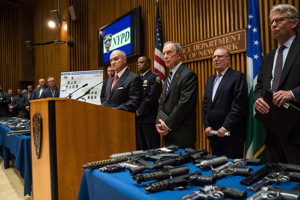 Bloomberg Announces Largest Seizure of Guns in NYC HIstory