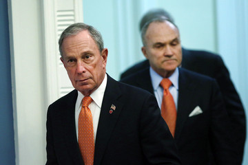 Michael Bloomberg Raymond Kelly Michael Bloomberg and Ray Kelly Hold a News Conference