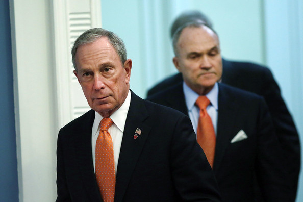 Michael Bloomberg and Ray Kelly Hold a News Conference