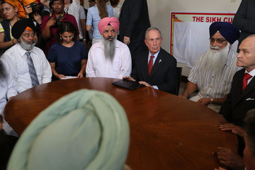 Michael Bloomberg Raymond Kelly New York's Sikh Community Reacts To Wisconsin Shootings