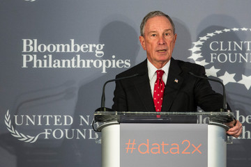 Michael Bloomberg Hillary Clinton and Michael Bloomberg Team Up