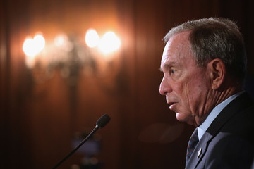 Michael Bloomberg Bloomberg Global Business Forum Held in New York