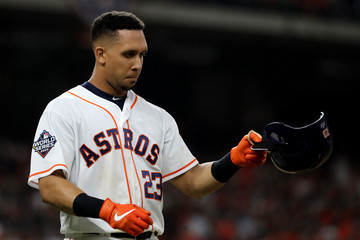 Michael Brantley World Series - Washington Nationals v Houston Astros - Game One