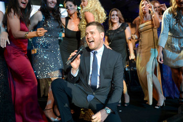 Michael Buble Muhammad Ali's Celebrity Fight Night XX - Inside