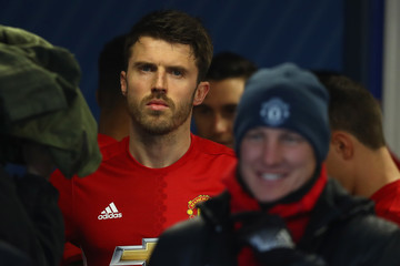Michael Carrick Blackburn Rovers v Manchester United - The Emirates FA Cup Fifth Round