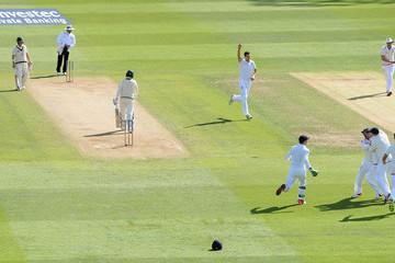 Michael Clarke England v Australia: 3rd Investec Ashes Test - Day Two