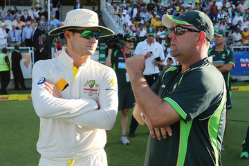 Michael Clarke South Africa v Australia - 3rd Test: Day 5