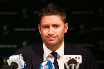 Michael Clarke Australian Cricket Team Returns Home