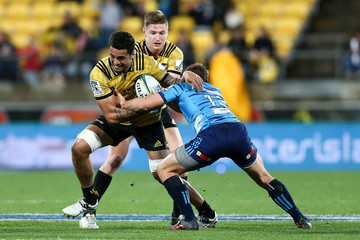 Michael Collins Super Rugby Rd 18 - Hurricanes v Blues