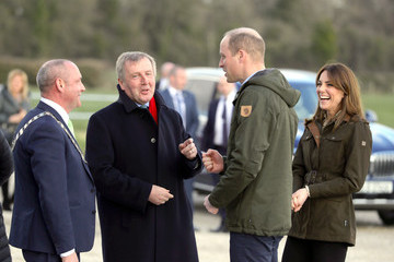 Michael Creed The Duke And Duchess Of Cambridge Visit Ireland - Day Two