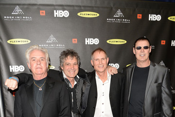 Michael DeRosier Arrivals at the Rock and Roll Induction Ceremony