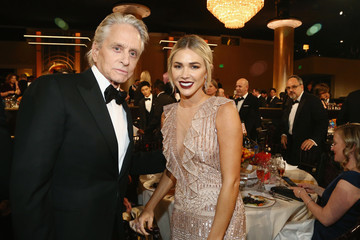 Michael Douglas The Golden Globe Awards Sponsored By Lindt Chocolate