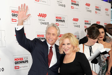 Michael Douglas AARP's 15th Annual Movies For Grownups Awards - Arrivals