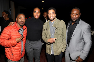 Michael Ealy Los Angeles Influencer Special Screening of Sony Pictures' BLACK AND BLUE, Hosted By Terrence J And Director Deon Taylor