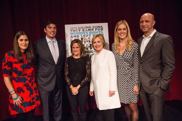 Michael Epstein Democratic Candidate for President Hillary Clinton Speaks at NYC's School of Visual Arts