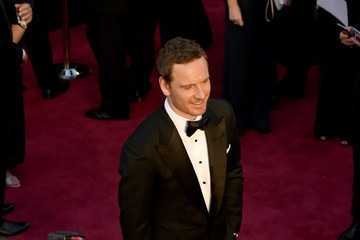 Michael Fassbender 88th Annual Academy Awards Arrivals From a Distance