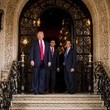 Michael Flynn Donald Trump Meets With Leaders at Mar-a-Lago in Palm Beach