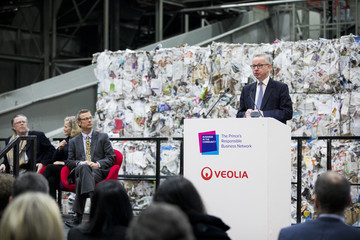 Michael Gove The Prince Of Wales Attends Waste-To-Wealth Summit