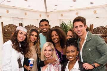 Michael Griffiths Joanna Chimonides KISSTORY On The Common 2019 - Arrivals