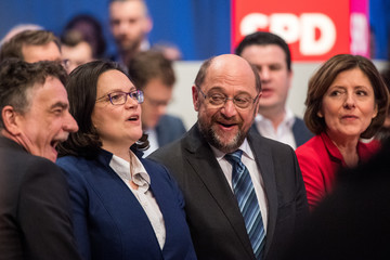 Michael Groschek Social Democrats (SPD) Hold Federal Party Congress