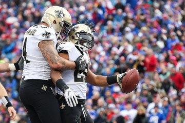 Michael Hoomanawanui New Orleans Saints v Buffalo Bills