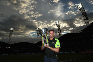 Michael Hussey Big Bash League - Thunder v Sixers