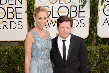 Michael J. Fox 71st Annual Golden Globe Awards - Arrivals