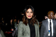 Priyanka Chopra attends the Michael Kors Collection Fall 2019 Runway Show at Cipriani Wall Street on February 13, 2019 in New York City.