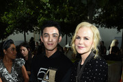 Leo Wu and Nicole Kidman attend the Michael Kors Collection Spring 2020 Runway Show on September 11, 2019 in Brooklyn City.
