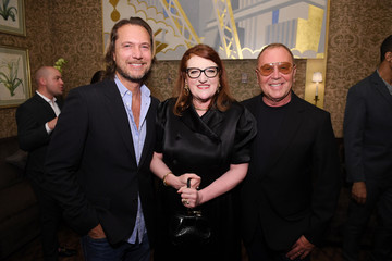 Michael Kors Lance Le Pere Harper's BAZAAR's Glenda Bailey Celebrates Her Damehood At The Carlyle Hotel In NYC