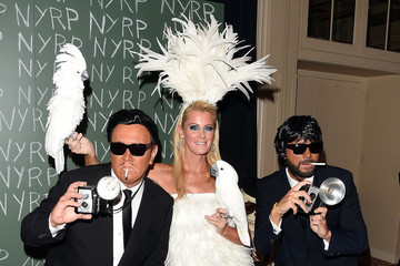 Michael Kors Lance Le Pere 2014 Hulaween Gala Benefiting New York Restoration Project