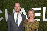 Actors Jim Parrack and Leven Rambin attend Michael Kors Launch of Claiborne Swanson Frank's 'Young Hollywood' on October 2, 2014 in Beverly Hills, California.