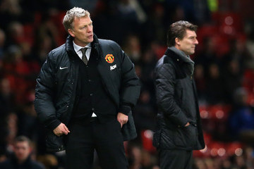 Michael Laudrup David Moyes Manchester United v Swansea City - FA Cup Third Round