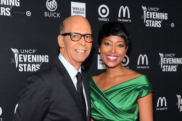 Michael Lomax Laysha Ward UNCF Hosts The 33rd Annual An Evening With The Stars - Red Carpet
