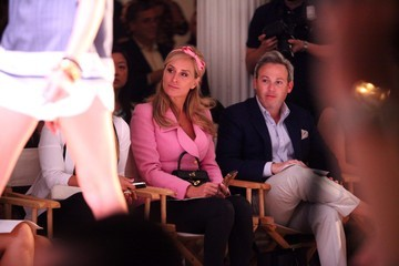 Michael Lorber Daisy Fuentes - Front Row - Spring 2013 Style360