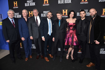Michael Malarkey Premiere For History Channel's 'Project Blue Book' - Red Carpet